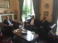 FARUK ÇATUROĞLU - Çaturoğlu, Büyükelçi Bilgiç'i Ziyaret Etti
