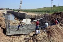 CEYLANPINAR - Ceylanpınar'da Dere Islah Çalışması
