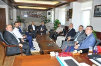 VATANSEVER - Çorum TSO'dan Albay Üstündağ'a Ziyaret