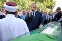 HACI BAYRAM - Cumhurbaşkanı Erdoğan, İçyer'in Cenaze Namazına Katıldı