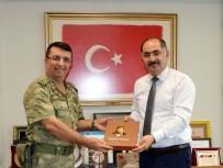 NAMIK KEMAL - Garnizon Komutanı Piyade Albay Cöne'den Rektör Şimşek'e Ziyaret