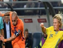 WESLEY SNEIJDER - Hollanda'yı Sneijder kurtardı