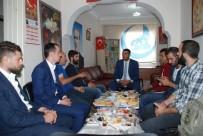ÜLKÜ OCAKLARı - Kars Ülkü Ocakları Başkanı Güngör, Basınla Bir Araya Geldi