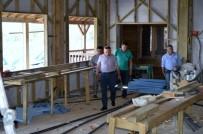 MEHMED ALI SARAOĞLU - Muratdağı Termal Kayak Merkezi'ndeki Çalışmaları İnceledi