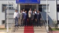 CÜNEYT YÜKSEL - AK Parti'den İl Jandarma Komutanı Albay Eren'e Ziyaret