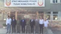 CÜNEYT YÜKSEL - AK Parti'den Kurmay Albay Cöne'ye Ziyaret
