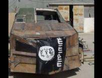 CANLI BOMBA - Araçtaki bomba düzeneğini patlatmak isteyen IŞİD'li öldürüldü