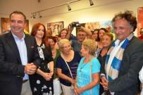 BEDRİ BAYKAM - Ayvalık'ta Ressam Bedri Baykam'ın Sergisi Açıldı