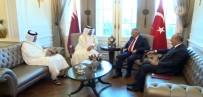 KATAR - Başbakan Katarlı Mevkidaşıyla Görüştü