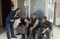 KARIN AĞRISI - Erzurum'da Düğün Yemeğinden Zehirlenen Vatandaşlar Hastaneye Kaldırıldı