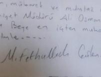 ALİ OSMAN KAHYA - Eski emniyet müdürünün evinden çıktı
