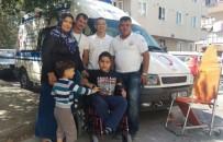 HARP OKULU - Hayırsever Hastadan Başka Bir Hastaya Akülü Sandalye