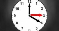 KIŞ SAATİ - Kış saati uygulaması sona erdi