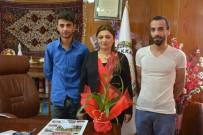 MİLLİ ATLETLER - Milli Atletlerden Başkanvekili Yıldız'a Ziyaret