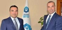 SAĞLIK SEKTÖRÜ - Prof. Dr. Arıkan'dan ABTÜ Rektörü Prof. Dr. Tümay'a 'Hayırlı Olsun' Ziyareti
