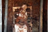 ŞENYURT - Tanrıça Kibele Heykeli Bulundu