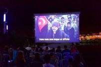FİLM GÖSTERİMİ - Ünye'de Açık Hava Sinema Kültürü Canlanıyor