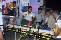 AHMET LEVENT - AK Partili İlçe Yöneticileri Kaza Yaptı Açıklaması 4 Yaralı