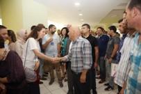KARTAL BELEDİYE BAŞKANI - Başkan Altınok Öz Belediye Personeliyle Bayramlaştı