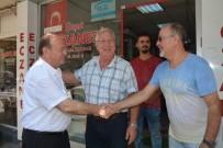 MESUT ÖZAKCAN - Başkan Özakcan Esnafın Bayramını Kutladı