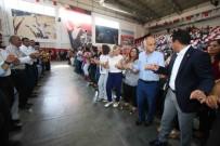 TAMER YIĞIT - Bayraklı'da Coşkulu Bayramlaşma Töreni