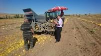 MURAT DURU - Develi Kaymakamı Duru Çiftçileri Ziyaret Etti