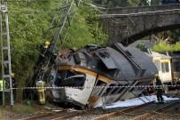 YOLCU TRENİ - İspanya'da Tren Kazası Açıklaması 4 Ölü, 47 Yaralı