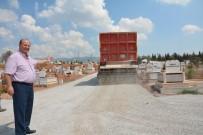 MESUT ÖZAKCAN - Kemer Mezarlığı'ndaki Toprak Yollar Asfaltlandı