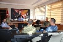 KOMANDO - Komutanlardan Kaymakam Çetin'e Ziyaret