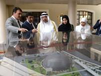 MUSTAFA DÜNDAR - Kuveyt Evkaf Bakanı Vekilinden Dündar'a Teşekkür Plaketi
