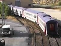 PKK - Muş'ta PKK trene saldırdı