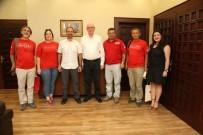 ALİ NASUH MAHRUKİ - Nasuh Mahruki Başkan Kurt'u Ziyaret Etti