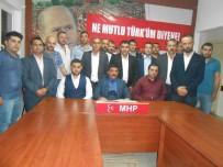 HASAN KAYA - Odunpazarı MHP'de Yeni Yönetim Kurulu Açıklandı