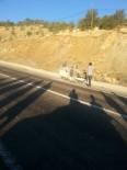 HÜSEYIN ARSLAN - Otomobil Takla Attı Açıklaması 1 Yaralı