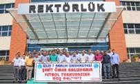 ÖĞRENCI İŞLERI - Üniversite'de Şehit Ömer Halisdemir Anısına Futbol Turnuvası Düzenledi