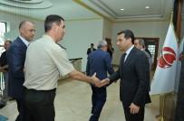 CAFER YıLDıZ - Vali Çelik, Valilik Personelinin Bayramını Kutladı