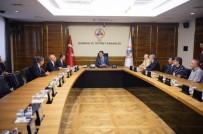 ORDUZU - Yeni Malatyaspor'dan Bakan Tüfenkci'ye Ziyaret