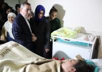 YÜREĞIR BELEDIYE BAŞKANı - Adana'da Yeni Yılın İlk Bebeği 15 Yıl Bebeği Olmayan Çiftin Bebeği Oldu