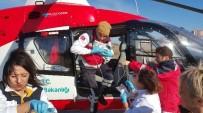 AMBULANS HELİKOPTER - Ambulans Helikopter 2 Günlük Bebek İçin Havalandı