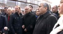 GÜRSEL TEKİN - CHP'liler İnceleme Sürerken Olay Yerine Girmek İstedi