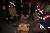 MURAT ZORLUOĞLU - Elazığ'da Protokol Yeni Yıla Güvenlik Güçleriyle Girdi