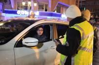 FUZULİ - Eskişehir'de Yeni Yılın İlk Trafik Uygulaması