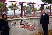 ÇAMLıCA - İncirliova'da Duvarlar Sanatla Süsleniyor