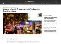 DÜNYA BASINI - İstanbul Saldırısını Dünyaya İHA Ekibinin Fotoğrafları Anlattı