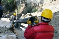 ŞEBEKE HATTI - Kaş'ın İçme Suyu Sorunu Çözüldü