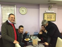 İBRAHIM SAĞıROĞLU - Milletvekili Günnar Ve Başkan Sağıroğlu'dan Yomra Esnafına Ziyaret