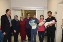MURAT KILIÇ - Muş'ta Yeni Yılın İlk Bebeği 'Umut' Bebek Oldu