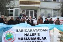 HARUN KARACAN - Sarıcakaya'dan Halep'e Yardım