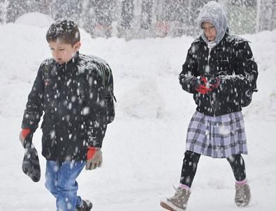 15 ilde okullara kar tatili