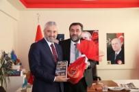 AK Partili Başkandan MHP'ye Ziyaret